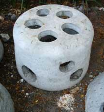 Una cúpula de cemento. | Efe