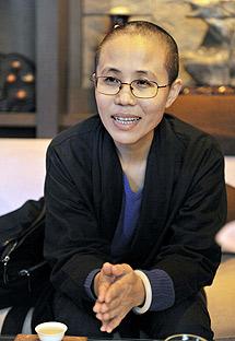 La mujer de Liu Xiaobo. | Ap