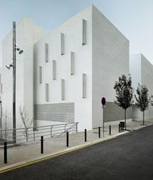 Imagen de la promoción de Can Travi, del Patronato Municipal de Vivienda de Barcelona.