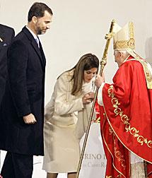 Con los Príncipes de Asturias. | M. Riopa