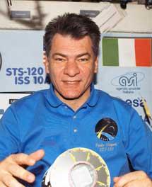 El astronauta Paolo Nespoli. | ESA