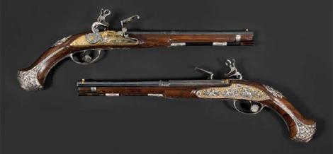 Las pistolas que pertenecieron a José Bonaparte. | Osenat