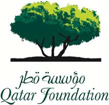 Logo de Qatar Foundation.