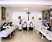 Las Hermanas en el refrectorio |E.M.