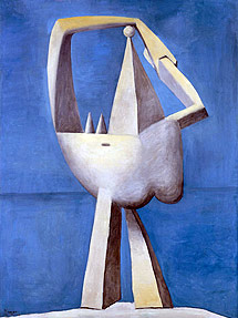'Desnudo contemplando el mar' (1929)