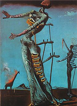 'Las llamas, las llamas' (1942) es una de las imágenes más icónicas del pintor catalán