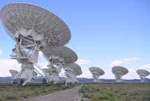 El interferómetro VLA (NRAO) en Nuevo México. | Hajor