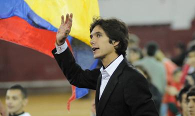Sebastián Castella sale a hombros en Quito. | Efe