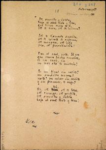 Imagen de uno de los manuscritos.
