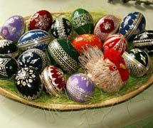 Huevos checos de Pascua. | Jan Kameníček