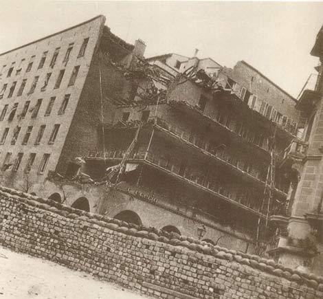 Bombardeo de la Casa de las Flores (S. Zuazo 1936, Madrid). | ELMUNDO.es