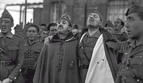 Franco y Millán Astray en una imagen de Bartolomé Ros del año 1926.
