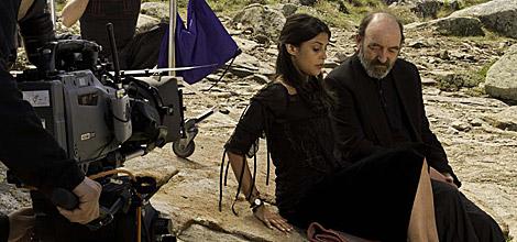 Sinbad con Vanessa.