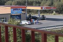 La gasolinera de Guitiriz.   Pedro Agrelo