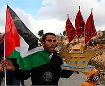Un manifestante palestino. | Afp