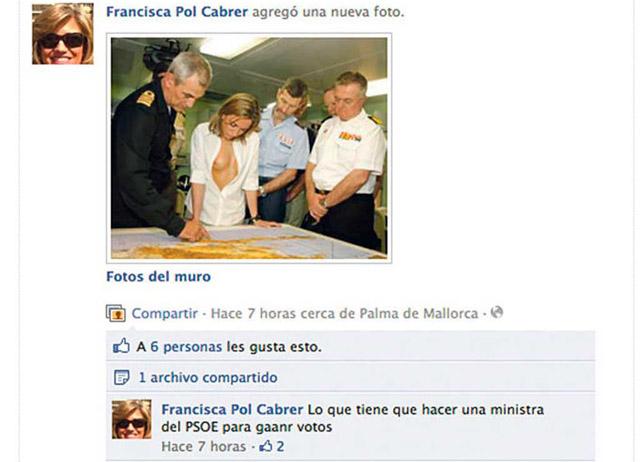 Captura de la foto en la página de Pol. | EL MUNDO