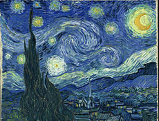 'La noche estrellada', de Van Gogh.