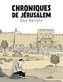 Portada del nuevo cmic de Delisle.