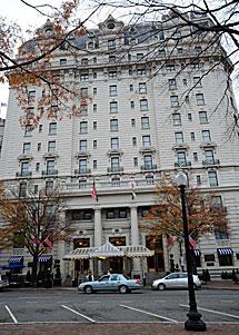 Un hotel de Washington donde DSK pudo haber mantenido relaciones. | AFP