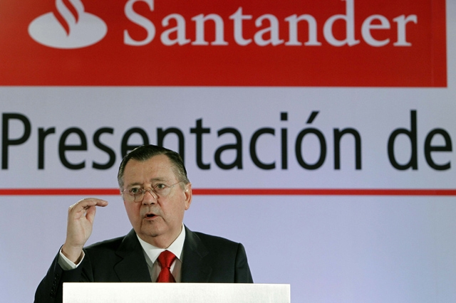 El vicepresidente y consejero delegado del Banco Santander, Alfredo Senz. | Efe