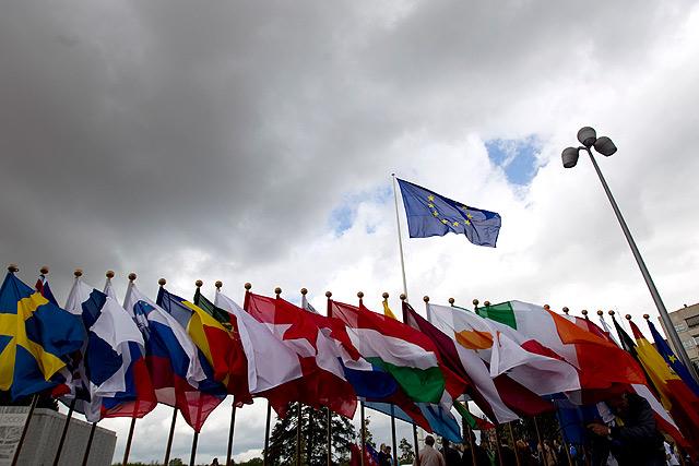 Celebración del día de Europa. | Alberto Di Lolli