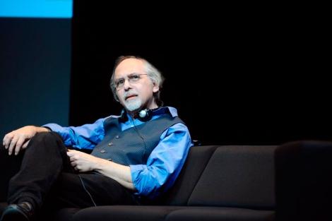 Art Spiegelman en la presentación del Festival Internacional del Cómic de Angulema. | AFP