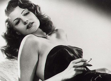 Rita Hayworth, en una escena de la película 'Gilda'.