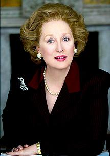 Meryl Streep, como 'la Thatcher'.   Efe