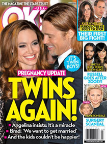 Portada de 'OK! Magazine'.