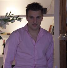 El consejero delegado de Airbnb, Brian Chesky, en Madrid. | J. A. N.