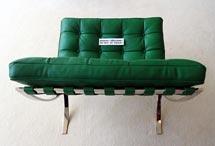 Sofá diseñado por Van der Rohe. | Afp