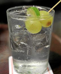 'Gin Tonic' con uva.| B. Díaz