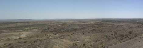 Paisaje actual en Woranso-Mille, que hace 3,4 millones de años era el delta de un rio. |Nature
