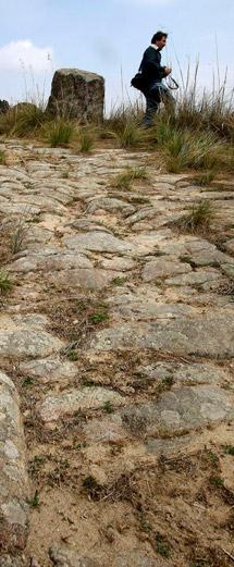 Antigua calzada romana.
