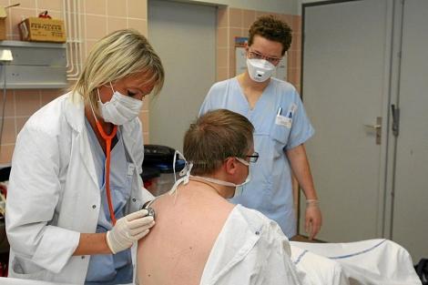 Imagen de archivo de un hospital de Mulhouse. | Efe