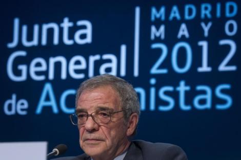 El presidente de Telefónica, César Alierta. | Alberto Cuellar