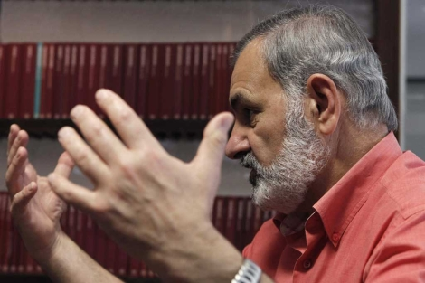 José María Bermúdez de Castro, en la presentación de su libro. |Efe