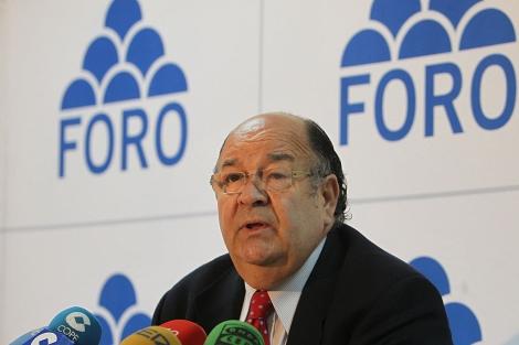 Enrique Álvarez Sostres, durante una rueda de prensa este viernes. | Efe