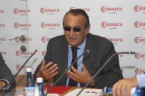 Carlos Fabra durante su comparecencia de este jueves. | M. R. González