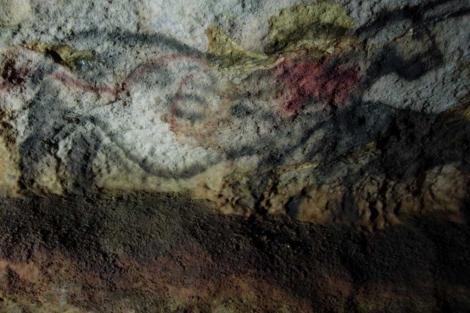 Hongos negros que cubren las cuevas rupestres de Lascaux. | CSIC