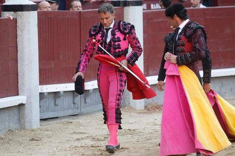 Aparicio, abatido tras su actuación en Madrid. | Alberto Cuéllar