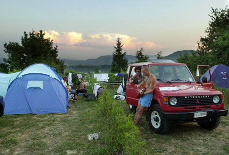 Camping en Igueldo, San Sebastin. | EM