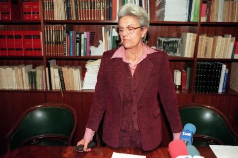 Pilar Muro, esposa del empresario secuestrado Publio Cordón, en una imagen de archivo.