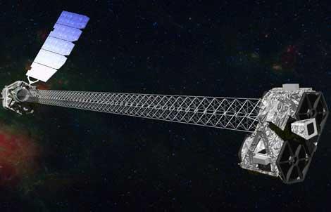 Recraeción del telescopio NuSTAR. | NASA