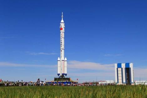 El cohete chino que lanzará a la primera mujer 'taikonauta'. | AFP
