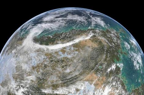 La tierra vista desde el espacio. | EM