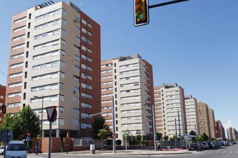 Bloques de viviendas nuevas. | Óscar Monzón