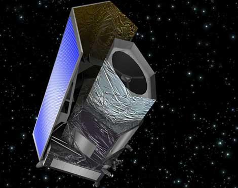 Recreación artística de la nave Euclides. | ESA