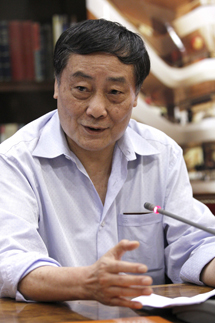 El magnate chino Zong Qinghoum, en Madrid. | Efe
