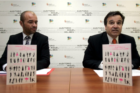 Flix Alcaraz y Jos Ramn Alonso presentan la programacin. | Ical
